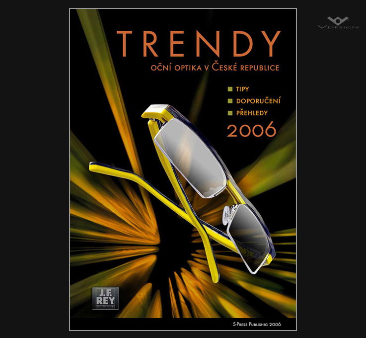 2006 TRENDY Optical magazine